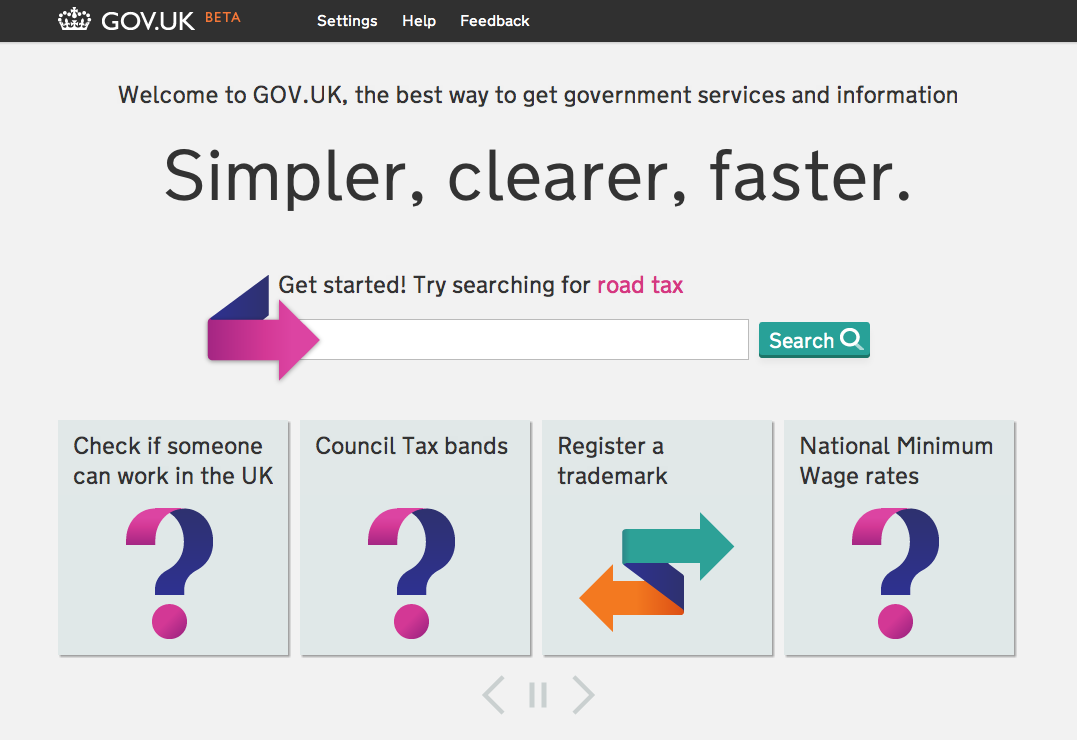 GOV.UK beta